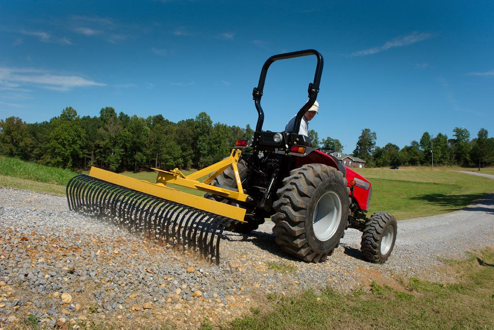 Landscape Root Rake : Landscape stick rake king kutter