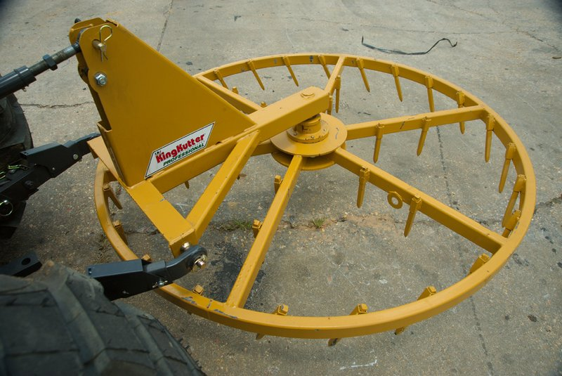 King Kutter Disc Bearing Disassembled : Rotary harrow king kutter