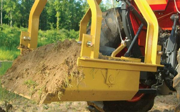 King Kutter Reversible Dirt Scoop