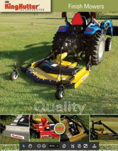 Finish Mower