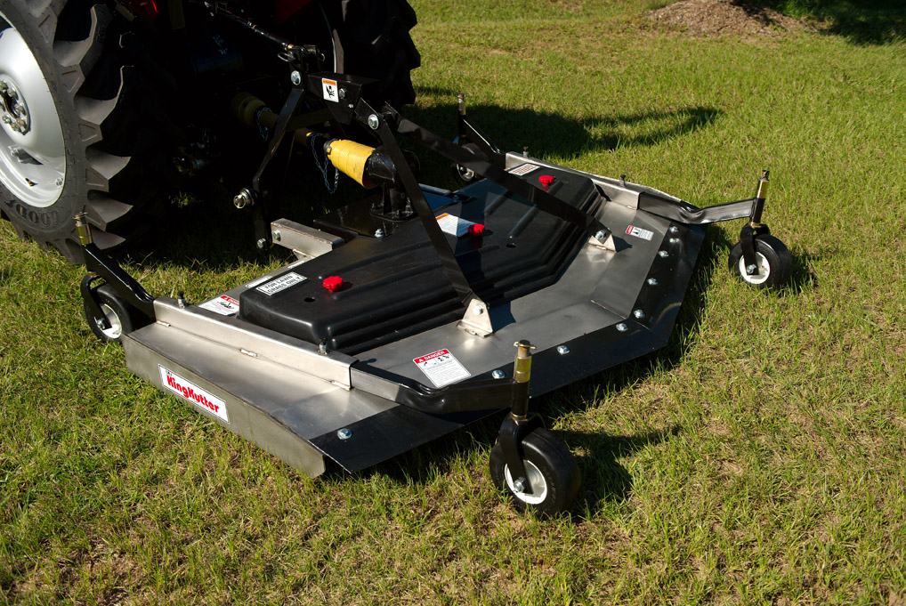 Rear Discharge Finishing Mower Stainless Steel