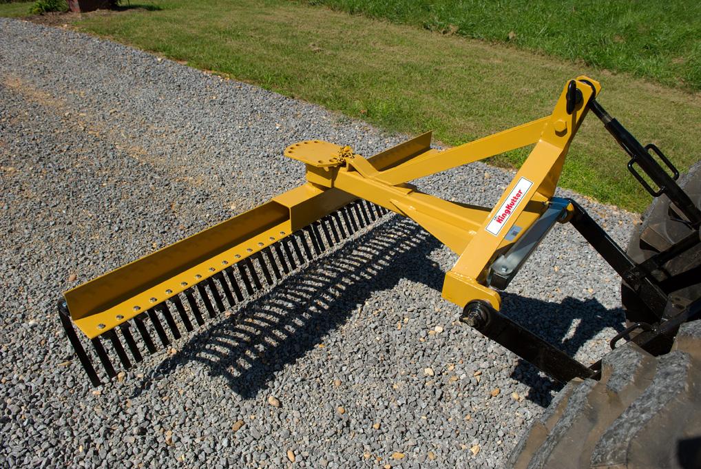 Landscape Rake Pictures : Landscape stick rake king kutter