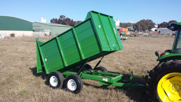 King Kutter 8 Ton Grain Trailer