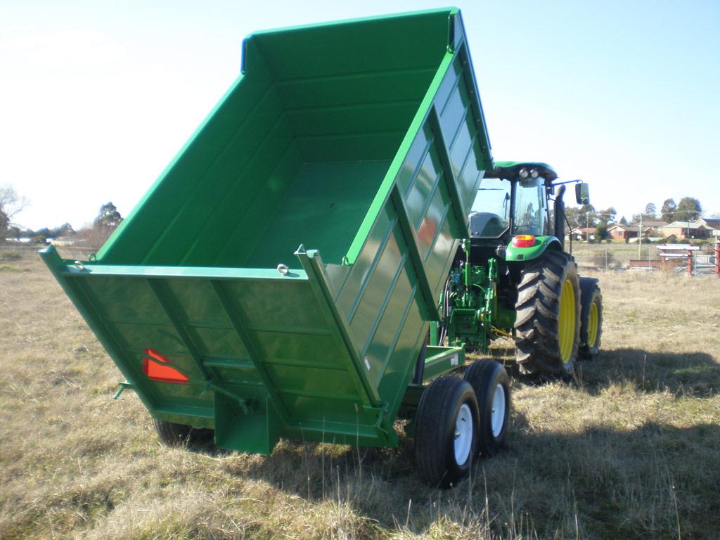 8 ton grain dump trailer