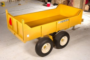 Taylor-Way 8 Ton Tipper Trailer
